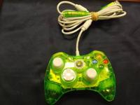 We have a great neon eco-friendly x-box 360 controller!