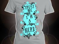 Nerdy women tees for NERDS made by NERDS! Check them