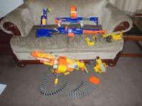 This collection consists of 6 well-maintained Nerf