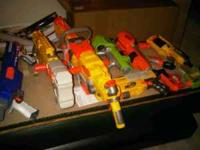 all these nurf guns/bullets etc for $40 call/text