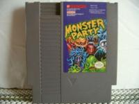 The NES Monster Party Plays fine+has very nice