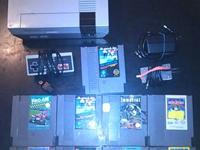 Nes with 8 games one controller, good titles tested and