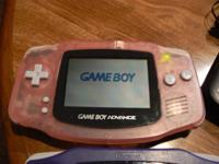 Available is this GameBoy Advance(#AGB-001)Pink w/2