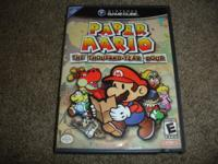 Nintendo GameCube Paper Mario game is available(The