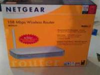 NETGEAR WIRELESS ROUTER, WGT 624 108 Mbps 2.4 GHz