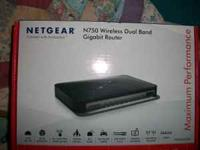 I have a Netgear N750 wireless router for sale. It has