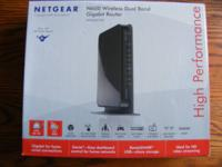 Nearly new (utilized just one week) NETGEAR Model N600
