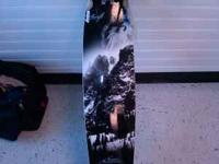 Never Summer brand Longboard. It is from the Swift