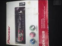 Never used pioneer car stereo, still in box.  I can