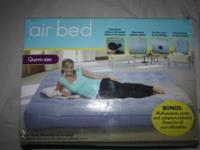 Never Used ~ Queen Size Airbed $18.00