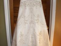 Allure Gown 8443,  Bride called off the wedding,