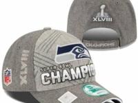 BRAND NEW - $25 New Era Seattle Seahawks Gray Super