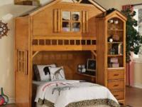 This amazing Loft Bed will capture your child's
