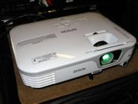 We just received a Epson 1080 HD home theater projector