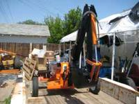 New 11hp mini towable backhoe for sale or trade for