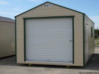 NEW 12'X24' ALL ALUMINUM SHED Ready for your tools,