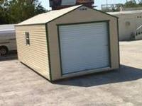 NEW 12X24 ALL ALUMINUM SHED Ready for your tools,