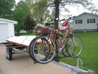 NEW 2013 Continental kayak trailer, less than