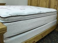 We have a very comfortable brand new pillowtop mattress