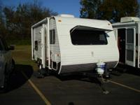 new 15bh Coleman travel trailer dry weight only 2906