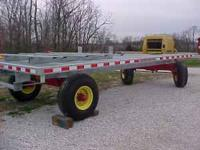 This is a BRAND NEW 18 ft. Lifetime hay wagon with