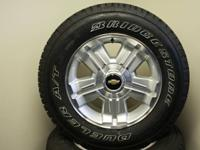 Set of 4 new remove Takeoff 18 inch Chevrolet Wheels