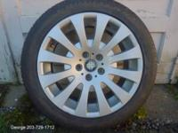 ALMOST BRAND NEW 18 INCH RIMS AND TIRES FOR SALE  BEST