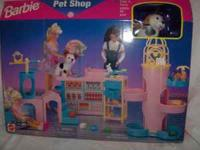 Item has never been removed from box. 1996 Barbie Pet