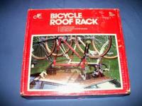 Two Bicycle Roof Rack NEW In Box - Never used Holds