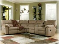 2 PC ASHLEY RECLINING SECTIONAL.  NO CREDIT HISTORY