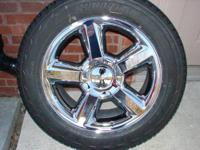 "I have a brand new set of OEM Chevy 20"" chromed"