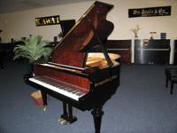 "This outstanding 5'7"" piano seems like a 6'6""! Superb"