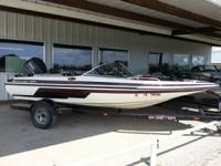 This new-used Skeeter is in awesome condition with