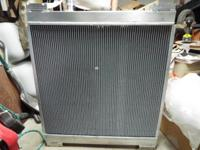2008 Subaru WRX aluminum performance radiator custom by