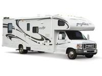 This RV for rent is a 35-foot 2010 CLASS-C Jayco