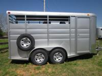 New 2011 Calico 3 Horse Slant Bumper Pull Trailer with