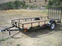 2011 5' x 14' 2 place ATV Trailer. $1500 or offer. call