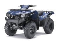 New 2011 Kawasaki Brute Force 650 4x4 in smoky blue.