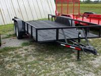 New 2012 16ft Utility Trailer 2-3500lb easy lube axles,