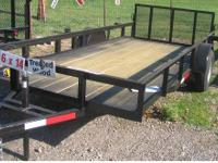 New 2012 6 x 14 with your choice of gates. You can get