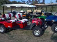 I have for sale a brand-new, 2012 Ezgo Express L6 gas
