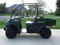 I BOUGHT A NEW KAWASAKI MULE 600 4X2 2 WEEEKS AGO, NOW