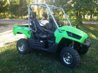 This is a 2012 Kawasaki teryx 4x4 it has an awesum 750