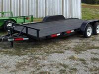 New 2012 model 18ft Car Hauler Trailer it is 16ft with