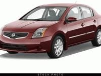 This 2012 Nissan Sentra four door Sedan I4 CVT 2.0 SR