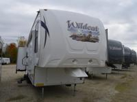 CLOSEOUT PRICED!!! Triple Slide Wildcat Fifth Wheel,