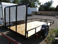 **NEW 2013** 5 x 10 Utility Trailer For Sale Full wrap