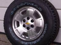 New 2013 Chevy Silverado 1500 Pickup Oem 17'' 6-lug