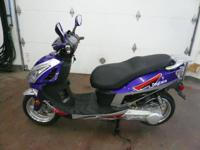 2013 Daytona 150cc Factory Warranty, Air cooled. single