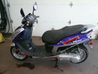 2013 Daytona 150cc Air cooled. single cylinder. 4
